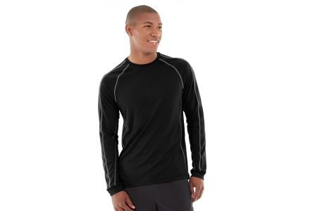 Deion Long-Sleeve EverCool™ Tee-L-Black