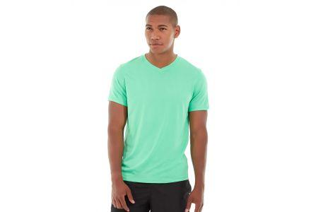 Atomic Endurance Running Tee (V-neck)-XS-Green