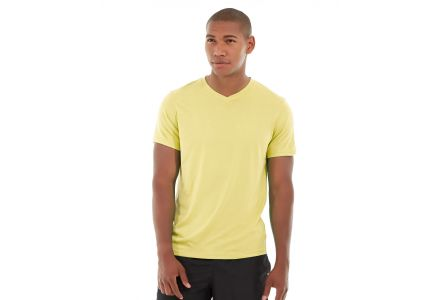 Atomic Endurance Running Tee (V-neck)-L-Yellow