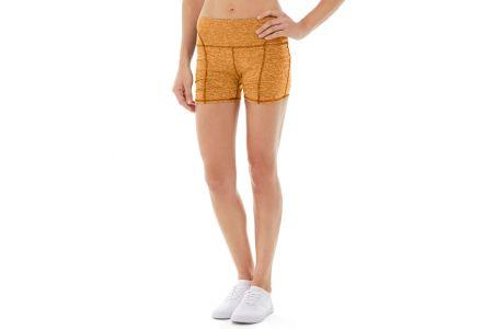 Gwen Drawstring Bike Short-28-Orange