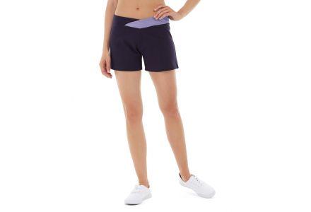 Bess Yoga Short-28-Purple